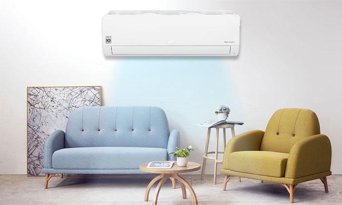 Máy lạnh LG Inverter 1.5 HP V13ENF hoạt động tốt