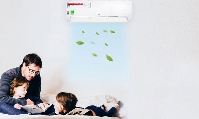 Máy lạnh LG Inverter 2 HP V18ENF bền bỉ