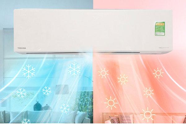 Máy lạnh 2 chiều với khả năng hoạt động hiệu quả trong cả 2 mùa nóng và lạnh