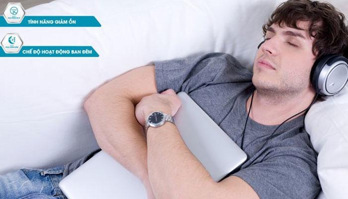 Giấc ngủ của bạn sẽ sâu hơn nhờ sự hoạt động êm ái của điều hòa 2 chiều Toshiba