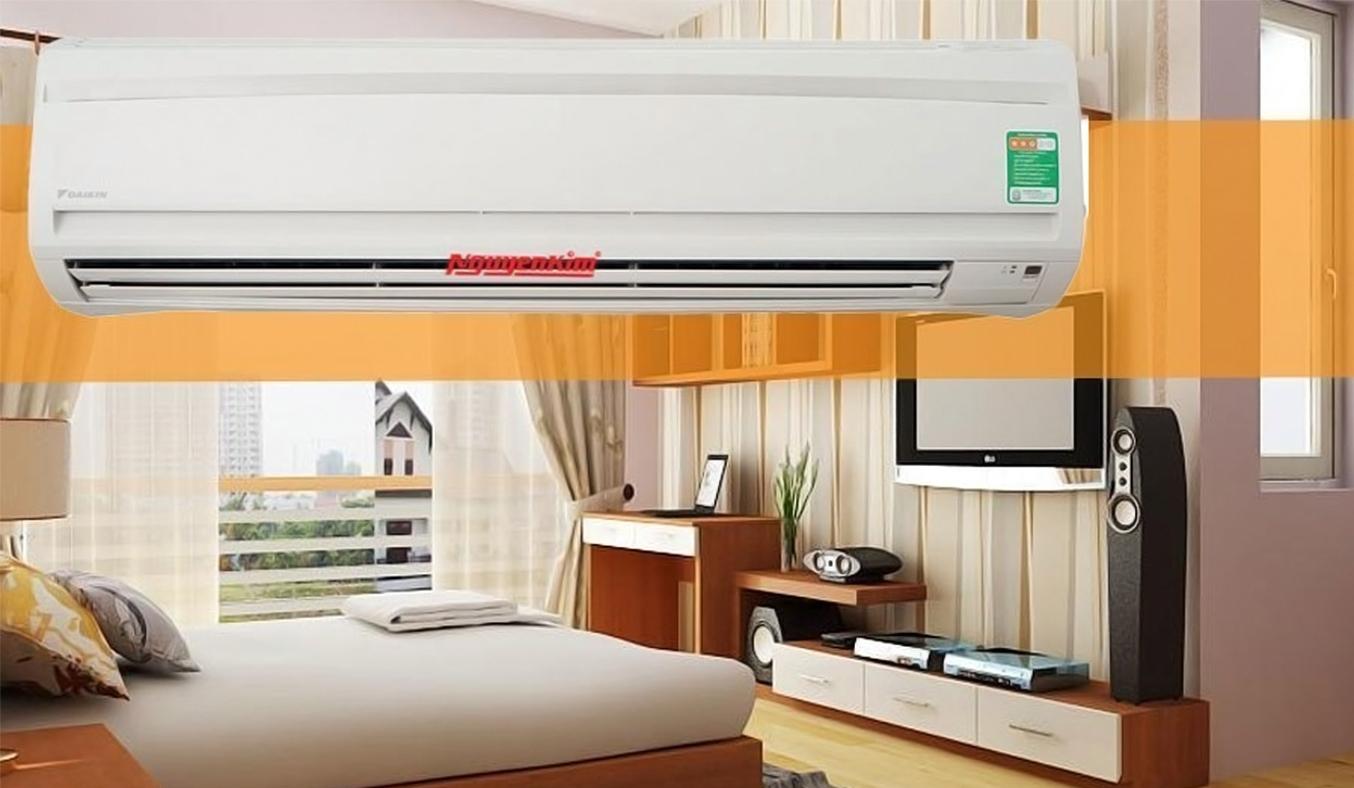 Máy lạnh Daikin Inverter 1.5 HP ATKC35TAVMV mang sắc trắng thanh lịch và sang trọng