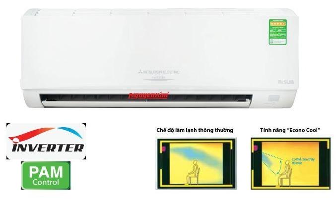 Máy lạnh Mitsubishi GH10VA 1HP tiết kiệm điện vượt trội