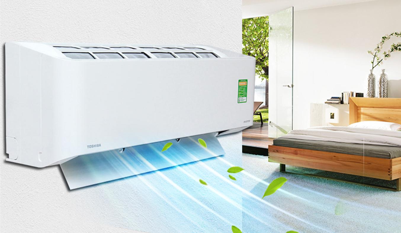 Máy lạnh Toshiba RAS-H10BKCV-V 1 HP hiện đại