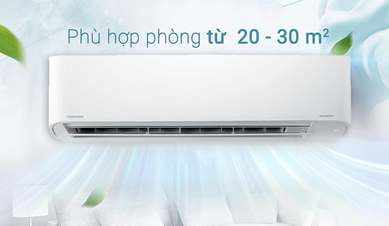 Máy lạnh Toshiba 2HP RAS-H18PKCVG-V sang trọng