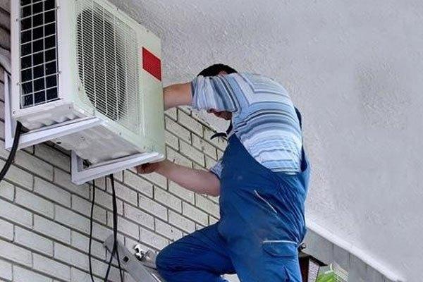 Cục nóng máy lạnh cần được đặt ở nơi thoáng mát, có mái che