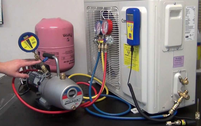 Việc nạp gas R22 cho máy lạnh dễ dàng