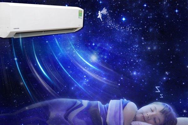 Tính năng nàyđược thiết kế dành riêng cho máy lạnh khi vận hành vào ban đêm