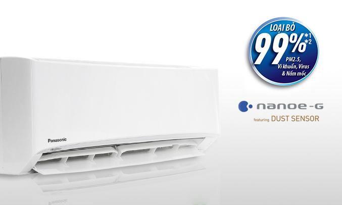 Máy lạnh Panasonic 1 HP CU/CS-PU9UKH-8 hoạt động êm ái
