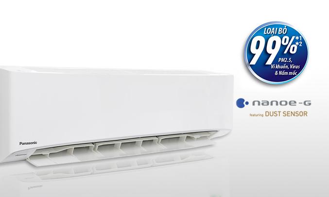 Máy lạnh Panasonic CU/CS-PU18UKH-8 hoạt động êm ái