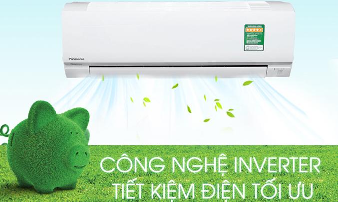 Máy lạnh Panasonic 1 HP CU/CS-PU9TKH-8 tiết kiệm điện