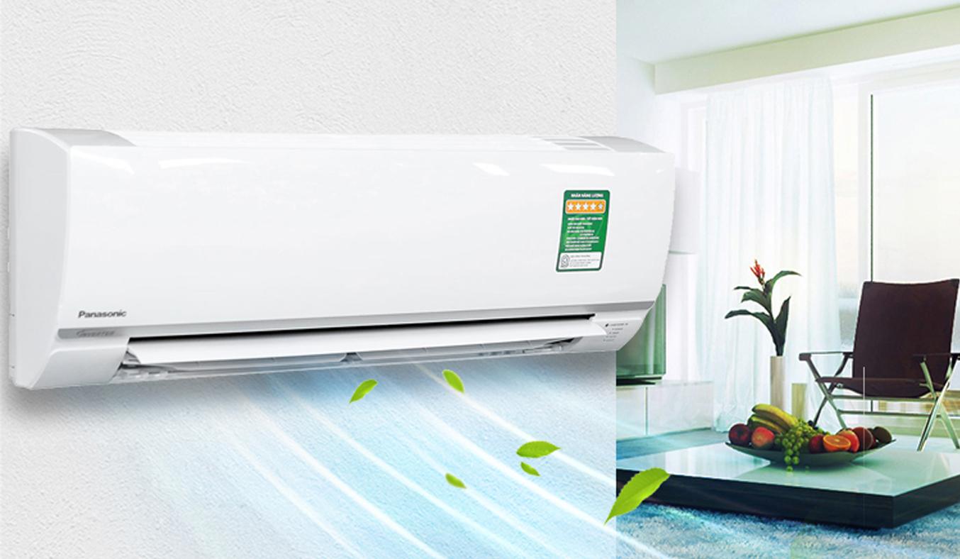 Máy lạnh Panasonic 1 HP CU/CS-PU9TKH-8 màu trắng trang nhã