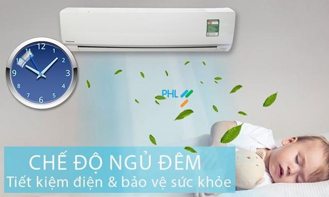 Máy Lạnh Panasonic Inverter 1 HP CU/CS-XU9UKH-8 chế độ ngủ đêm