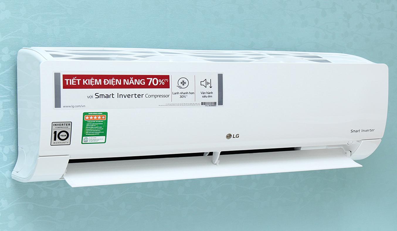 Máy lạnh LG V13END 1.5 HP thiết kế hiện đại