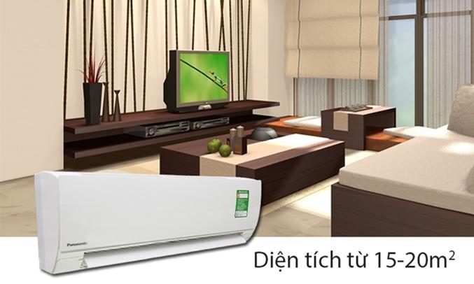 Máy lạnh Panasonic CU/CS-KC12QKH-8 hoạt động với công suất 1.5 Hp