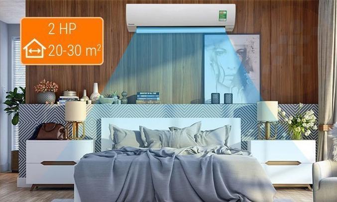 Máy lạnh Panasonic 2HP CU/CS-PU18TKH-8 tiết kiệm chi phí tiền điện