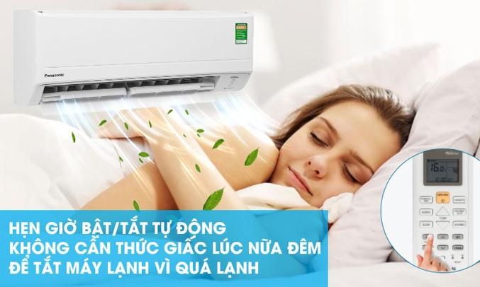 Máy lạnh Panasonic Inverter 1 HP CU/CS-PU9WKH-8M Chế độ hẹn giờ