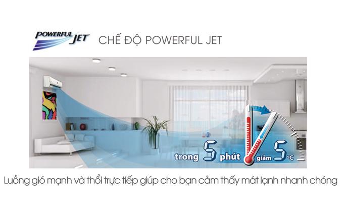 Máy lạnh Sharp 1 HP AH-X9STW chế độ làm lạnh nhanh