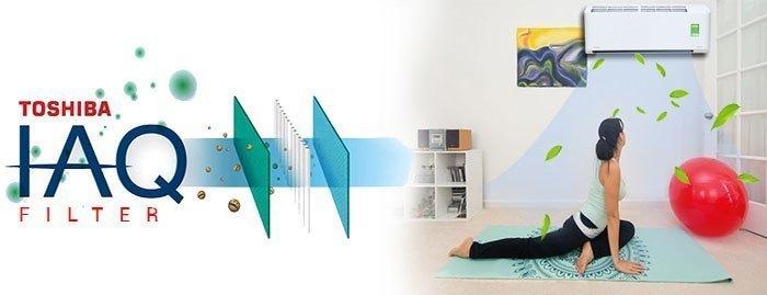 Công nghệ Toshiba IAQ trên máy lạnh giúp căn phòng bạn thoáng mát