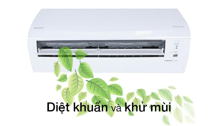 Máy lạnh 1 HP Daikin FTKQ25SVMV khử mùi hiệu quả