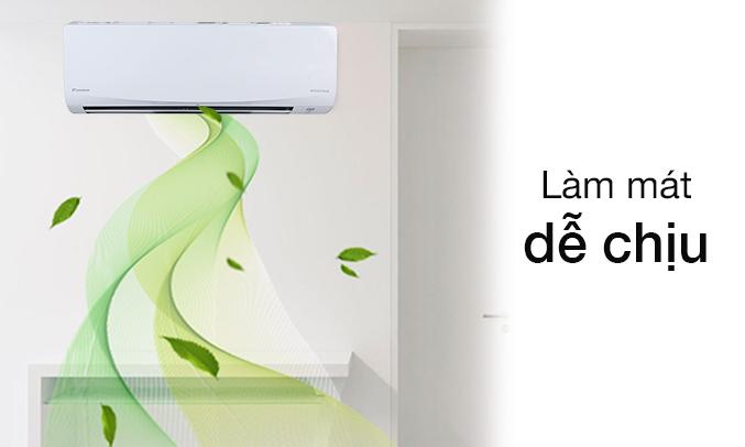 Máy lạnh 1 HP Daikin FTKQ25SVMV giảm nấm mốc