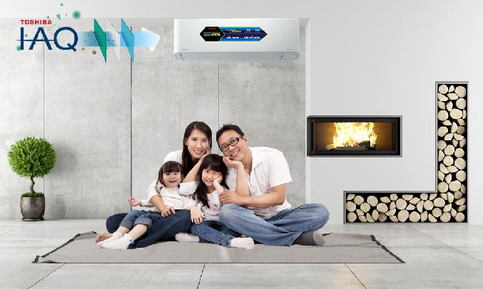 Máy lạnh Toshiba Inverter 1.5 HP RAS-H13C3KCVG-V - Hệ thống khử mùi diệt khuẩn IAQ