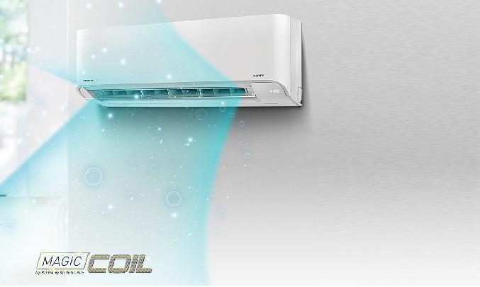 Máy lạnh Toshiba Inverter 1.5 HP RAS-H13E2KCVG-V - Magic Coil