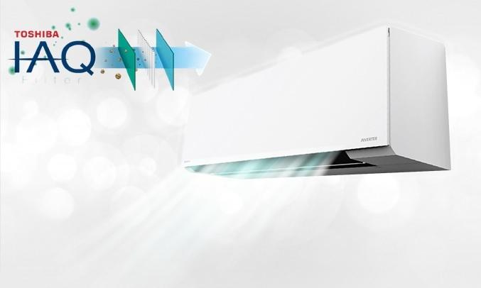 Máy lạnh Toshiba Inverter 2 HP RAS-H18E2KCVG-V - không khí IAQ