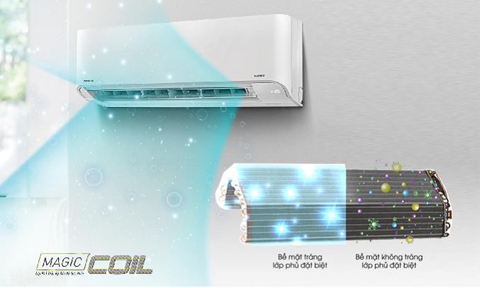 Máy lạnh Toshiba Inverter 2 HP RAS-H18E2KCVG-V - Magic Coil