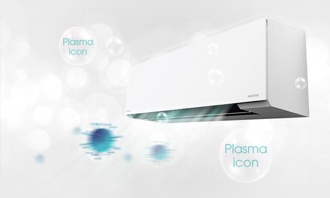 Máy lạnh Toshiba Inverter 2 HP RAS-H18E2KCVG-V - Plasma Ion