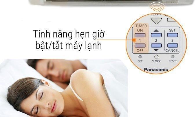 Máy lạnh Panasonic 1.5HP CU/CS-N12SKH-8 hẹn giờ thôn minh