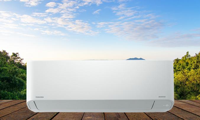 Máy lạnh Toshiba Inverter 1 HP RAS-H10H2KCVG-V - Gas R32 thân thiện môi trường