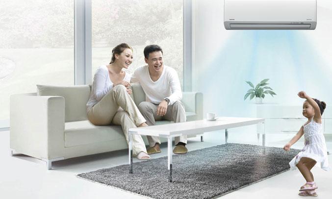 Máy lạnh Toshiba Inverter 1 HP RAS-H10HKCVG-V giảm mốc