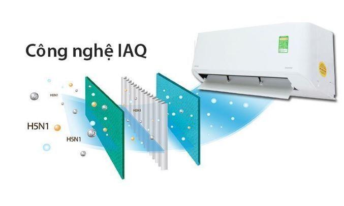 Máy lạnh Toshiba Inverter 1.5 HP RAS-H13HKCVG-V