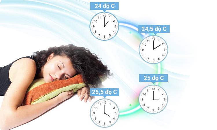 Máy lạnh Toshiba RAS-H10PKCVG-V 1 HP chế độ hẹn giờ