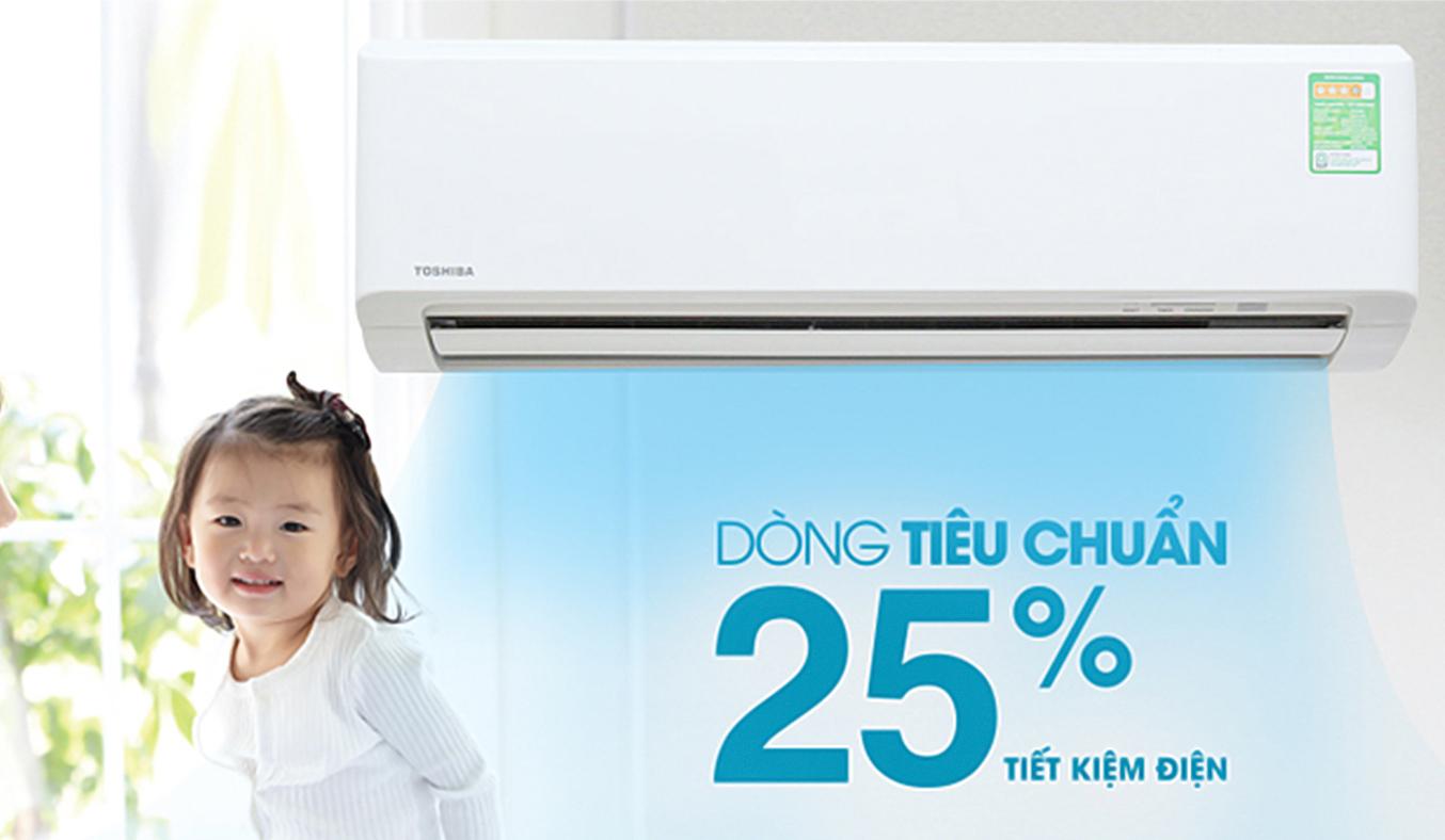 Máy lạnh Toshiba RAS-H18S3KS-V 2 HP tiết kiệm
