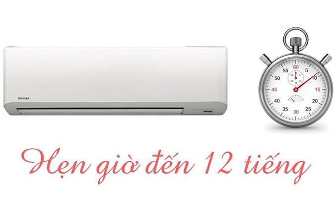 Máy lạnh Toshiba RAS-H18S3KS-V 2 HP hẹn giờ