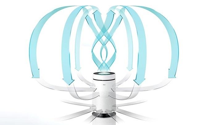 Máy lọc không khí LG AS65GDWD0 ọc không khí 360 độ