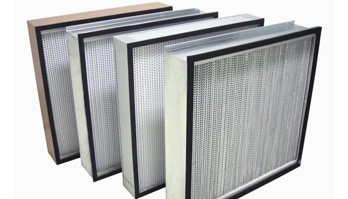 Màng lọc Hepa là bộ phận quan trọng nhất trong hệ thống màng lọc của máy lọc không khí