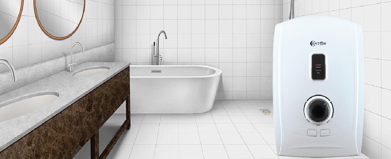 Máy nước nóng Centon GD600ESPRSFL trắng - Thiết kế nhỏ gọn, thanh lịch, phù hợp với mọi phong cách nội thất