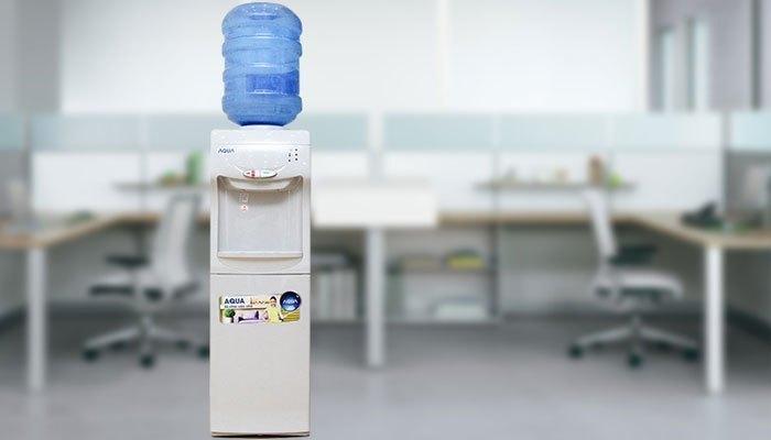 Máy nước nóng lạnh Auqa cho văn phòng đơn giản, hiện đại