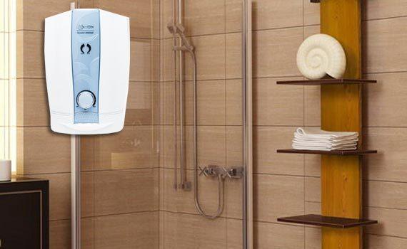 Máy nước nóng trực tiếp Centon 8998EP EMC xanh khuyến mãi tại nguyenkim.com