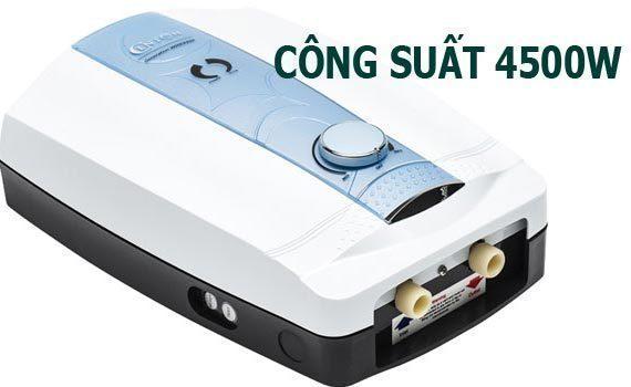 Máy nước nóng trực tiếp loại nào tốt? Máy nước nóng trực tiếp Centon 8998EP EMC xanh