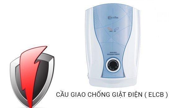 Máy nước nóng Centon CP0077EP EMC xanh hệ thống chống giật an toàn