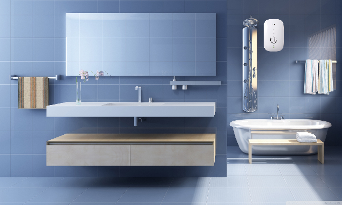 Máy nước nóng Ferroli Divo SPK 4.5S Trắng - Hiệu suất cao, tiết kiệm điện