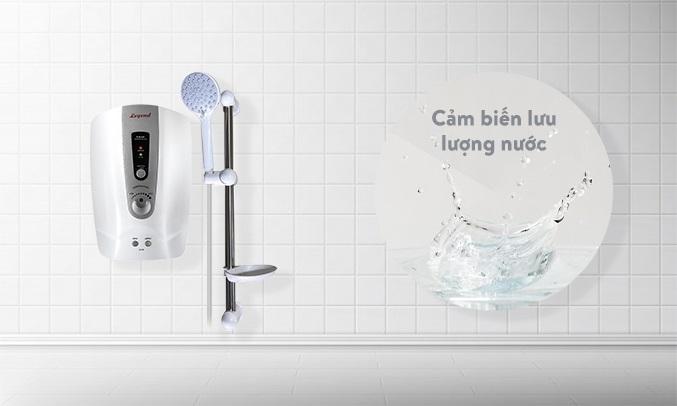 Máy tắm nước nóng Legend LEF35-EP Bạc - Cảm biến lưu lượng nước