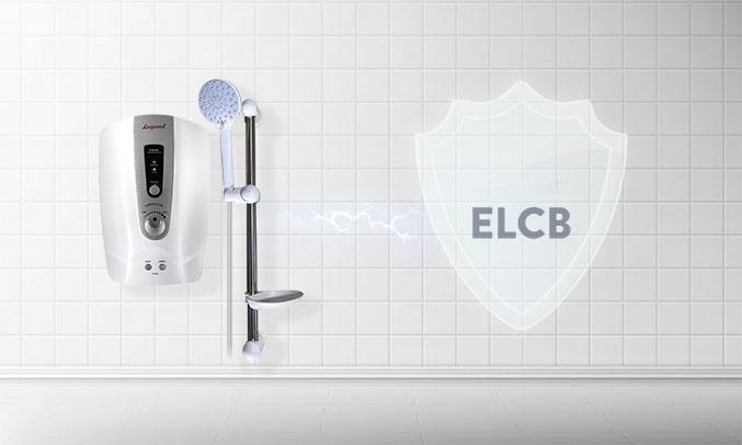 Máy tắm nước nóng Legend LEF35-EP Bạc - ELCB