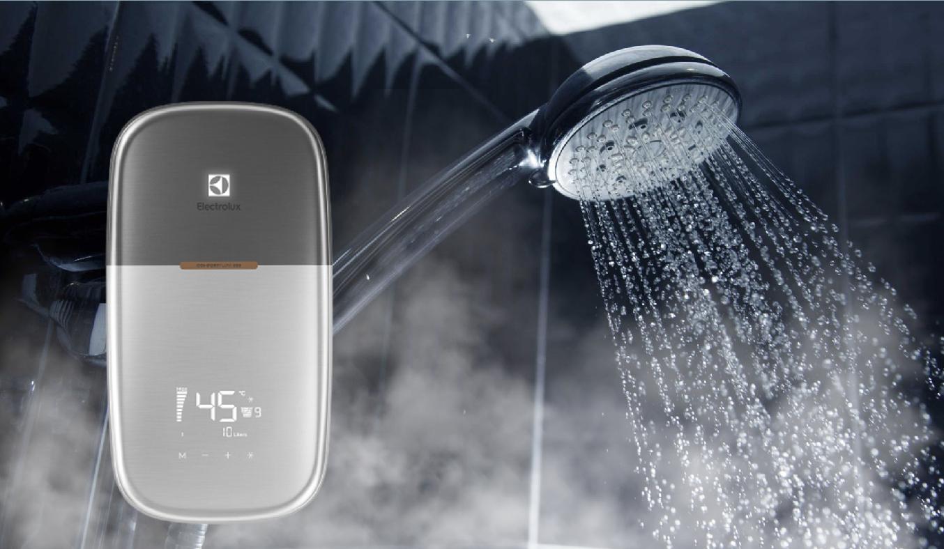 Máy nước nóng Electrolux EWE451MB-DST2 - Thiết kế sang trọng, thời thượng, nổi bật không gian phòng tắm