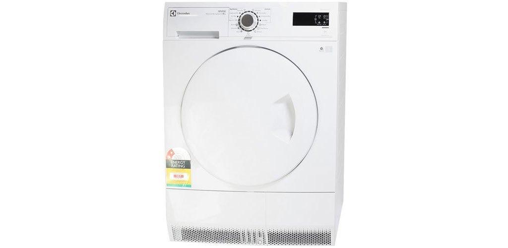 Máy sấy quần áo Electrolux 8 kg EDC2086PDW thiết kế sang trọng, nhiều tiện ích hiện đại
