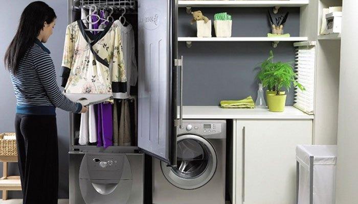 Phân loại máy sấy quần áo