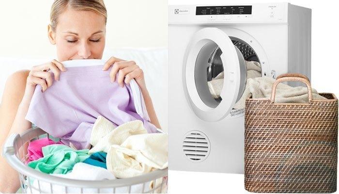 Máy sấy quần áo Electrolux EDV6051 sấy khô quần áo nhanh